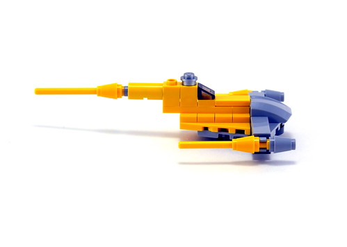 9674 Naboo Starfighter & Naboo - Side