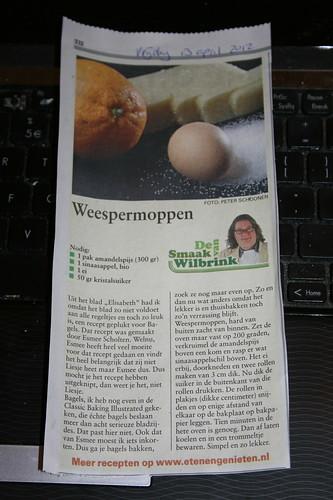 Es in de Telegraaf