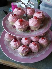Strawberry Daquiri Cupcakes