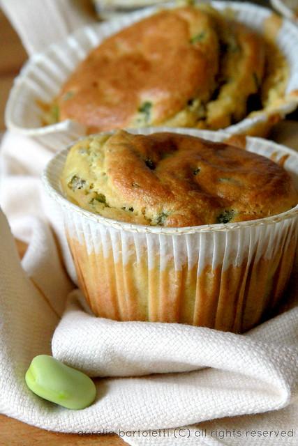 muffin con le  fave