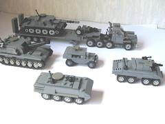 Mirco Army plus transporter by stgeorg6