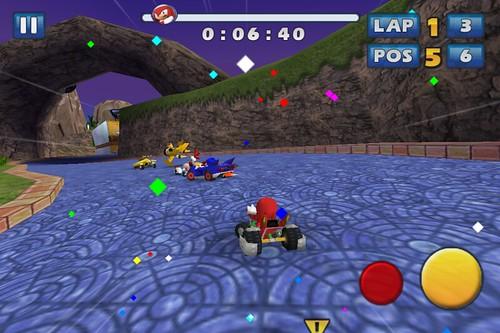 Sonic & SEGA All-Stars Corrida - Atualização iOS
