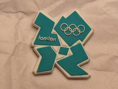 London 2012 fridge magnet
