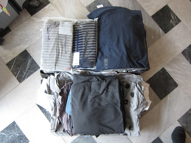 Uniqlo and  Chatuchak loot