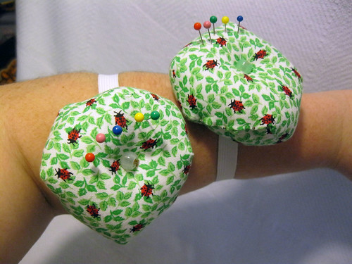 Offset Square Wrist Pincushion