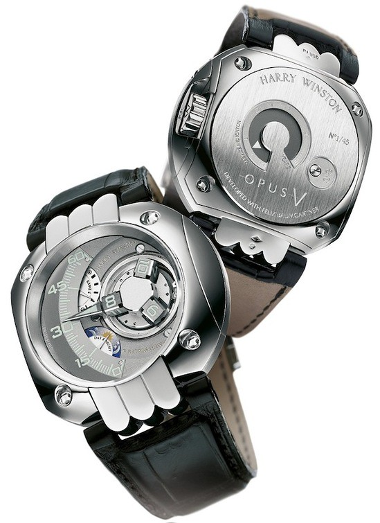 Christie's auctions rare and exquisite Harry Winston Opus 6 timepieces in Hong Kong