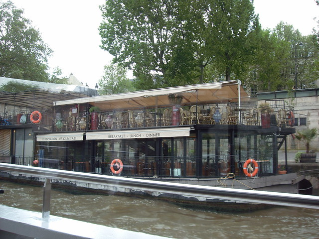 Restaurant on a boat