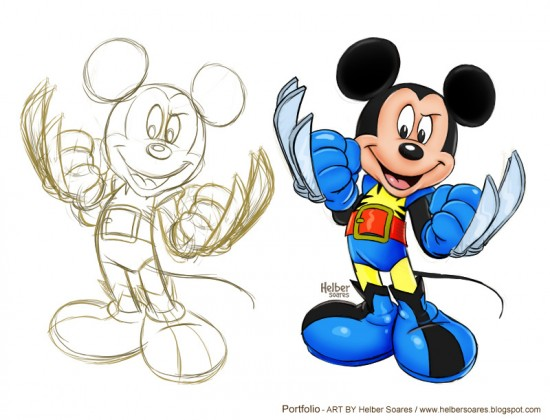 Disney Marvel Mickey