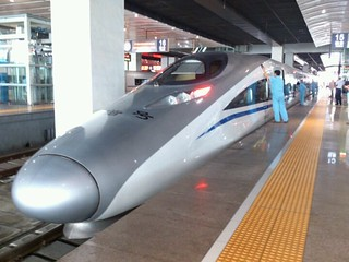 中国版新幹線なう。