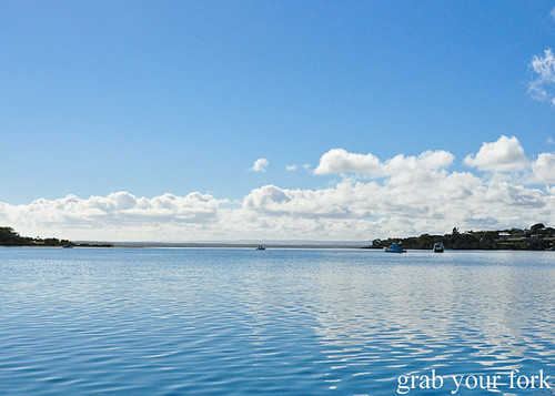Still blue water tranquility of Eyre Peninsula