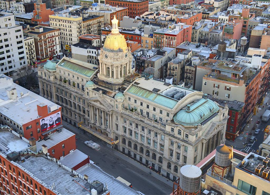240 Centre Street, formerly the New York City Police Headquarters building, - Tony Shi Photos