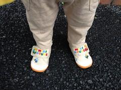 新しい靴で朝散歩です (2012/6/11)