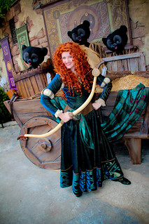 Merida and the Bears