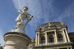Statue de Guillaume Le Tell à Lausanne