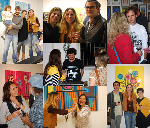 "The opening of my exhibition at the ''COR.Galeria de arte""- The great evening by good mood factory / Anita Damas"