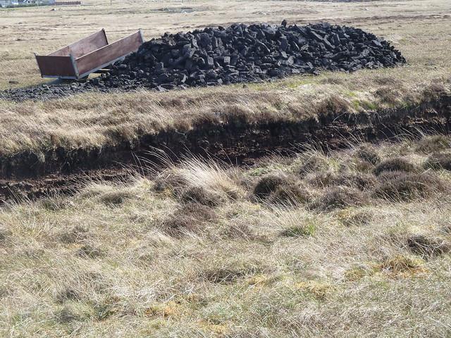 Peat Digging, Benbecula