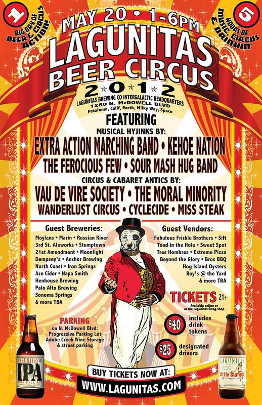LagunitasBeerCircus2012_poster