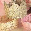 Craft - Lace Crowns DIY
