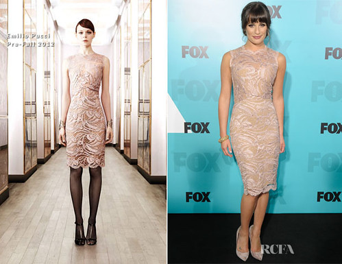 Lea-Michele-In-Emilio-Pucci-Fox-Upfronts-2012