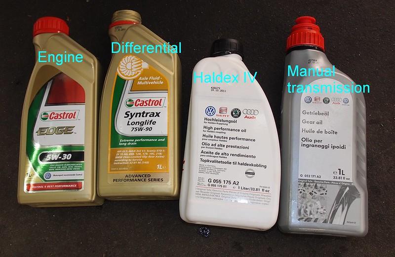 Haldex olje