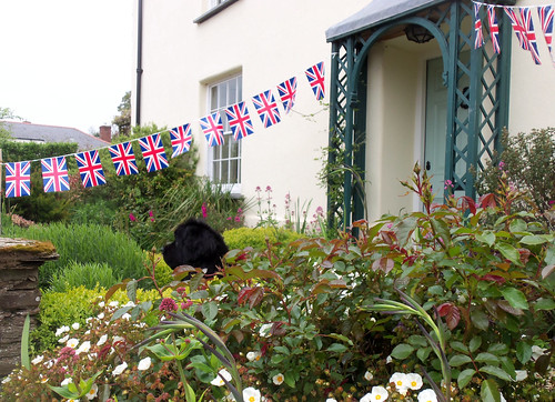 Ben and our bunting