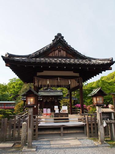 神泉苑 善女龍王社