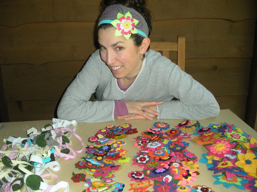 Changable Flowers Headbands Finished