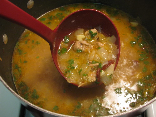 Chili Lime Chicken Soup