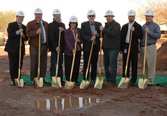 Chandler-Gilbert, Bridget Hall Ground Breaking