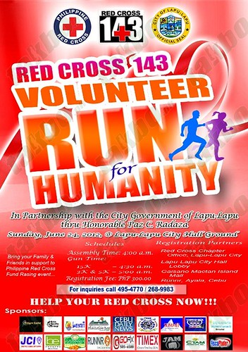 Red Cross 143: Volunteer Run for Humanity 3/5/15K (Cebu)