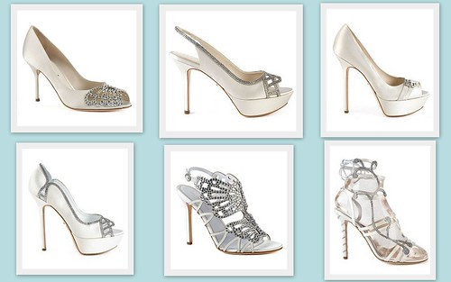 {Gorgeous Wedding Shoes} by Sergio Rossi by Nina Renee Designs