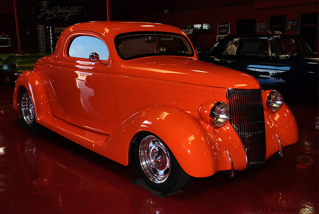 1936 ford 3 window coupe orange fvr flickr photo for 1936 ford 3 window coupe