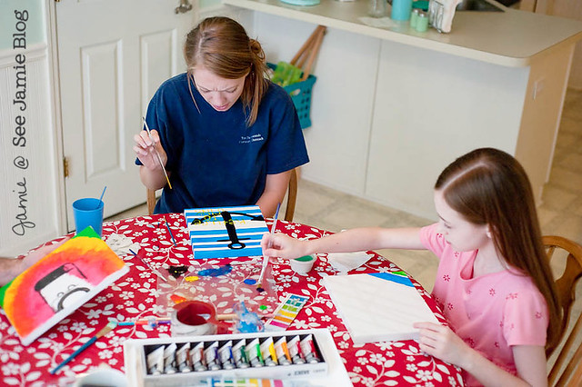 girls painting 052512