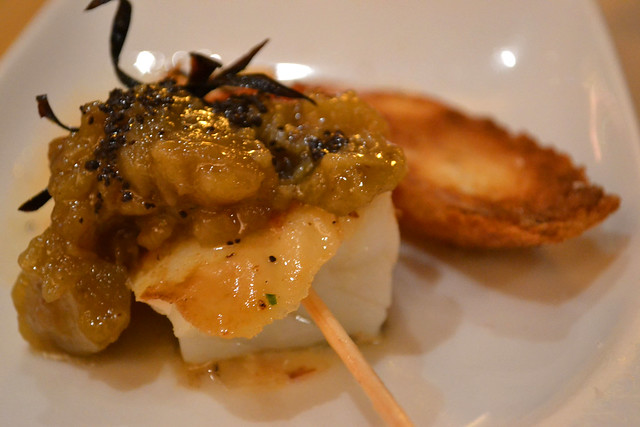 Cod Fish pincho, Cerveceria Catalana