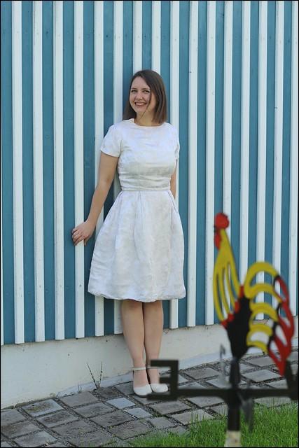 wedding dress, casualised