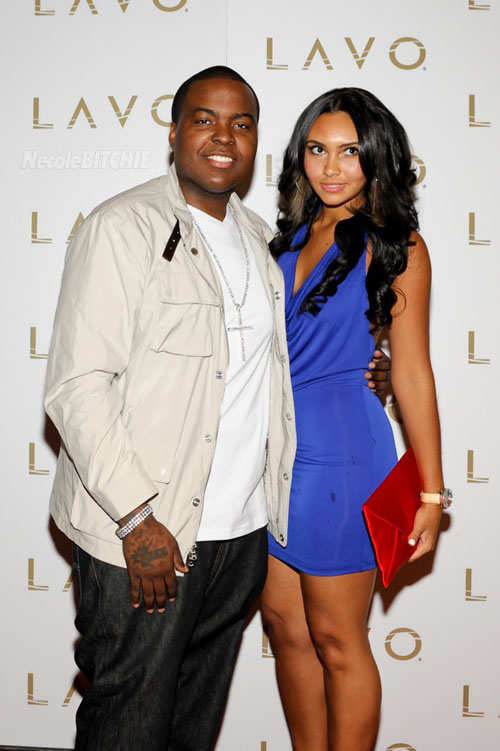 Sean Kingston and Shaniece Lozada