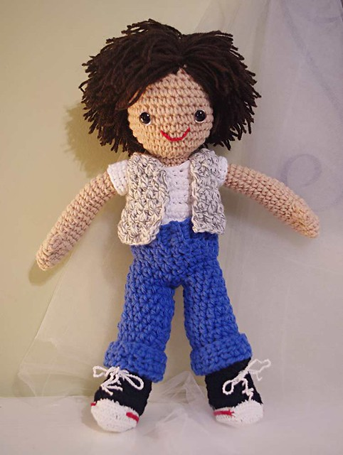 Amigurumi Hair Boy : Amigurumi Little-Me Boy Doll Flickr - Photo Sharing!