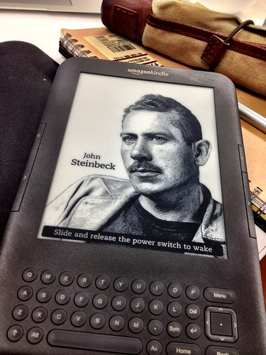 John Steinbeck - One of the Kindle's wallpaper