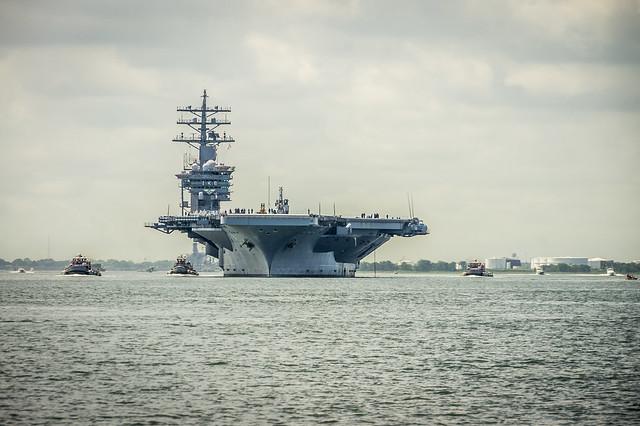 USS IKE Aircraft Carrier