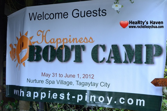 Happiest Pinoy Happiness Boot Camp