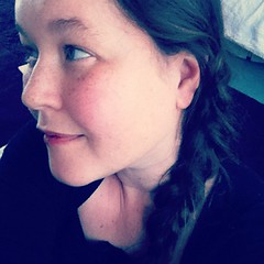 Attempted a French side braid today :)