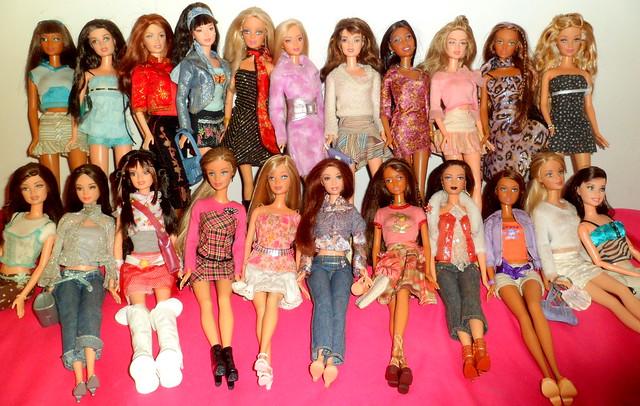 My Fashion Fever dolls!