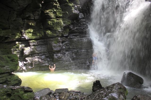 Hamadryade Lodge, Amazon Jungle lodge, Ecuador - Activities, waterfalls 9