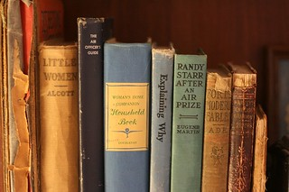 Small old book collection