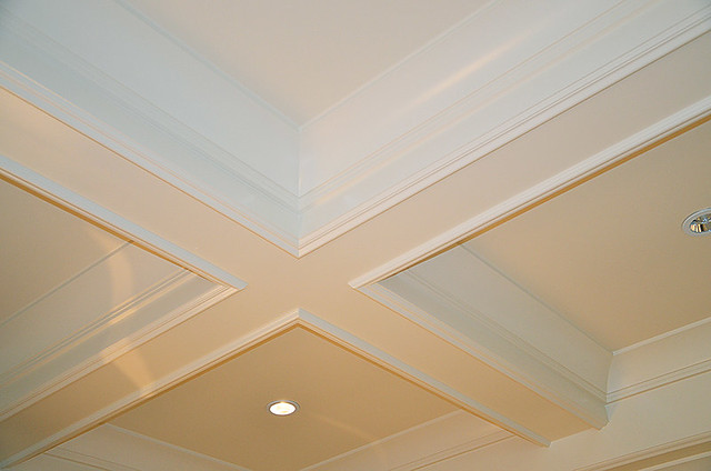 Coffered Ceiling Molding Design Detail Flickr Photo