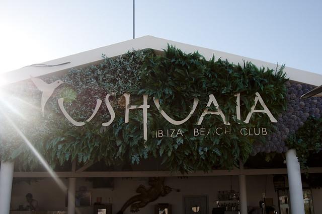 Ushuaïa Beach Club Restaurant, Ibiza beach restaurant