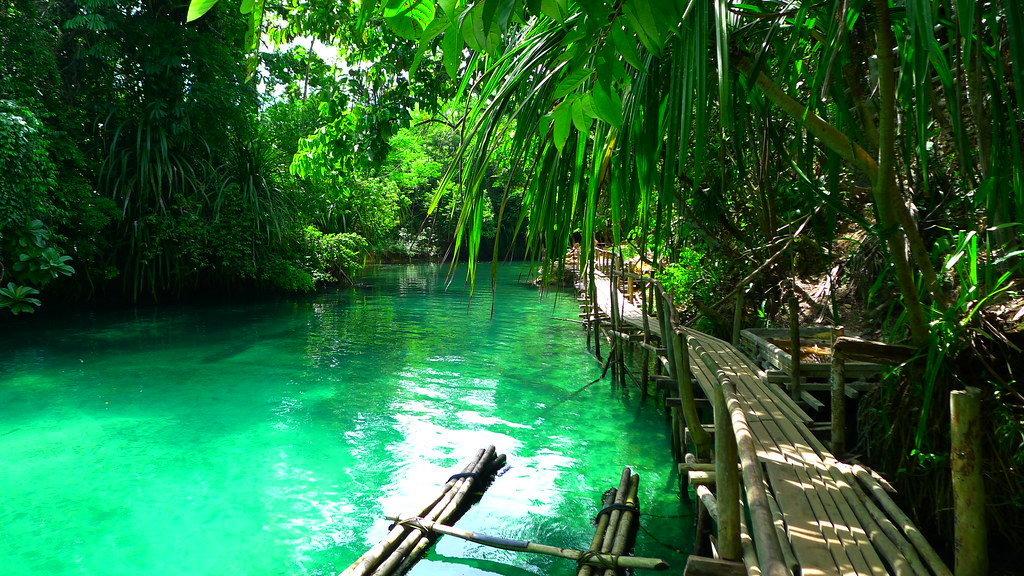 The Enchanted River, Hinatuan