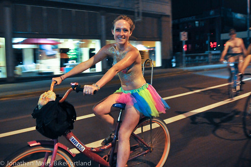 2012 World Naked Bike Ride - Portland-26
