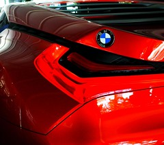 BMW M1 Hommage Car 2008 red detail
