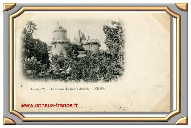 Alençon - Le Château des Ducs d'Alençon ND Phot -70-150